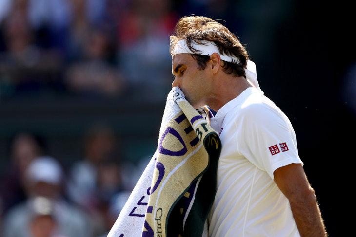 Уимблдон: Федерер сенсационно проиграл в 1/4 финала