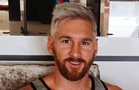 Фото дня. Месси стал блондином
