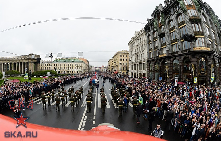 Салют, концерт ипарад: СКА отпраздновали чемпионство вПетербурге