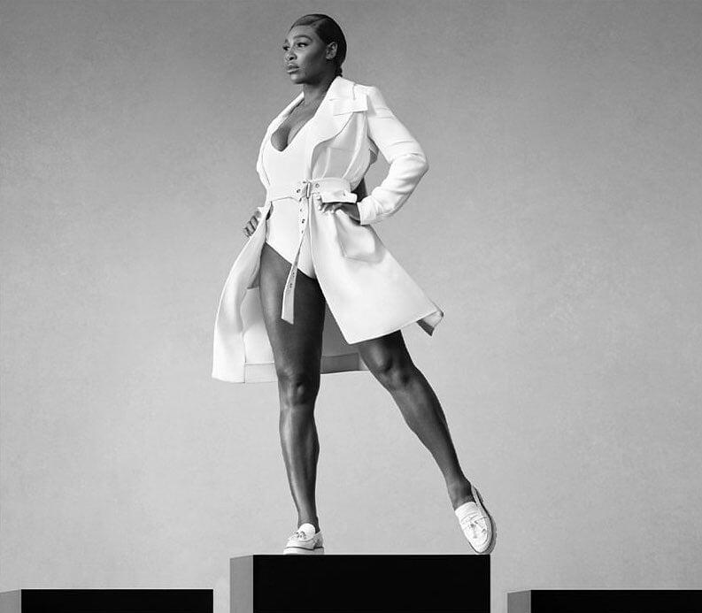 Серена Уильямс теперь посол люксовых туфель. Не только за деньги, но и за идею