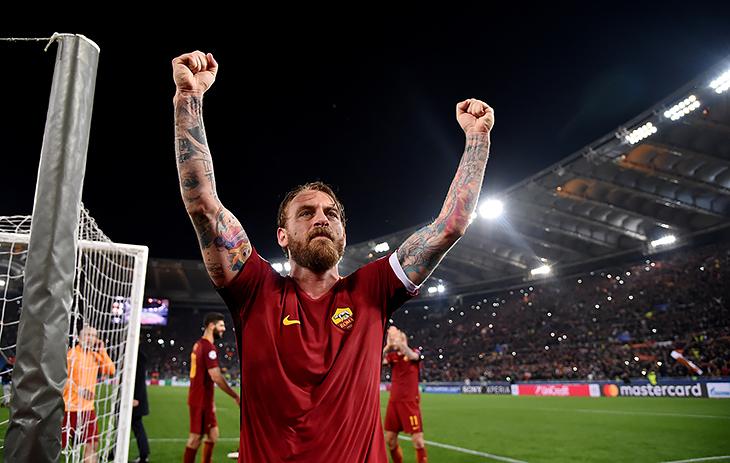 Рома, серия А Италия, Лига чемпионов, Даниэле де Росси, Барселона