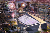 U.S. Bank Minneapolis, T-Mobile Arena, Водафон-Арена, Стад де Лион, Вегас, Миннесота, Бешикташ