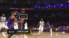 Rajon Rondo with the great assist!