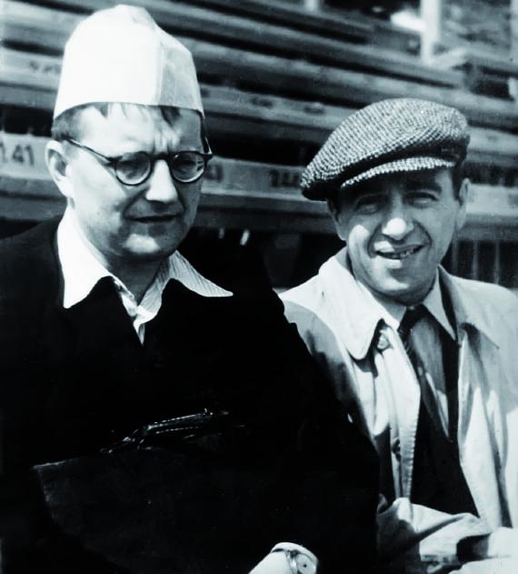 Шостакович и Блантер