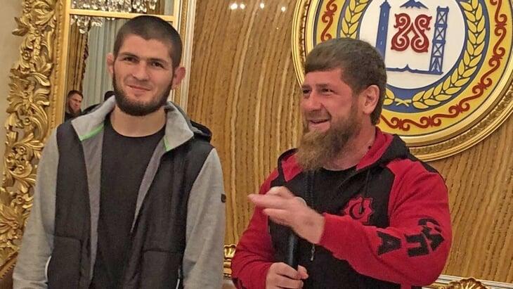 Кадыров предложил Хабибу любые деньги за бой в «Ахмате». Хотя недавно клуб просил финансовую помощь у Госдумы из-за санкций