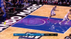 Joel Embiid with one of the day's best blocks