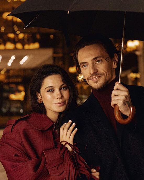 Ильиных и Полунин познакомились в инстаграме – Лена написала под впечатлением от танцев, у их сына гражданство США (и будет еще Сербии)