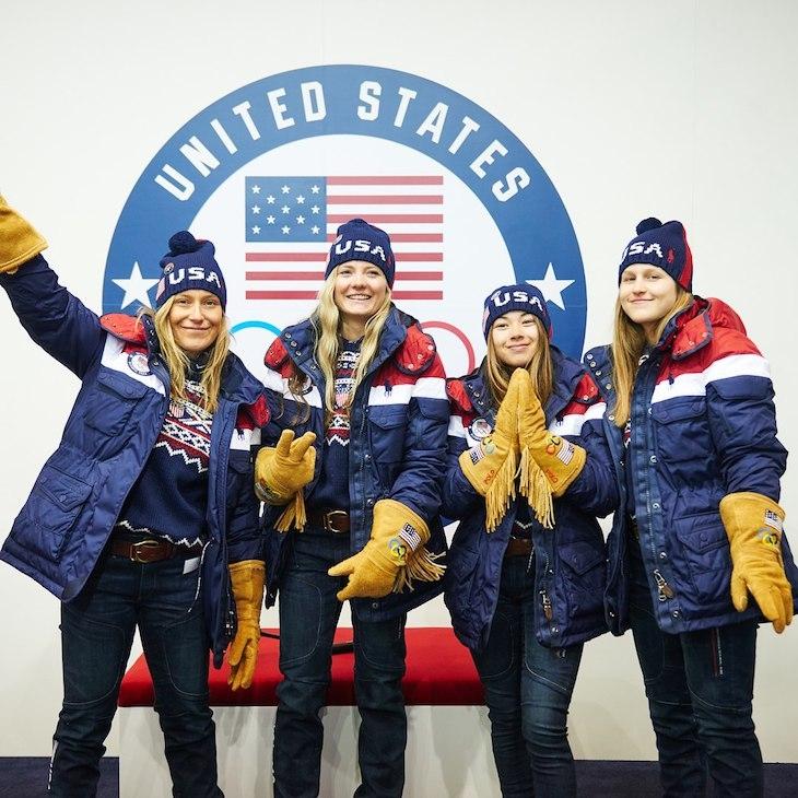 сборная США, стиль, Пхенчхан-2018