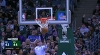 John Henson scores off the great dish by Eric Bledsoe