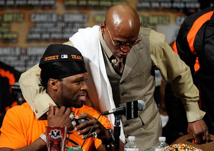 50 Cent дружил и ссорился с Флойдом, а еще переманивал Хабиба в Bellator