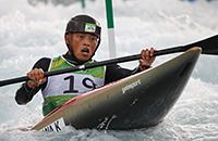 гребной слалом, Рио-2016, Казуки Язава