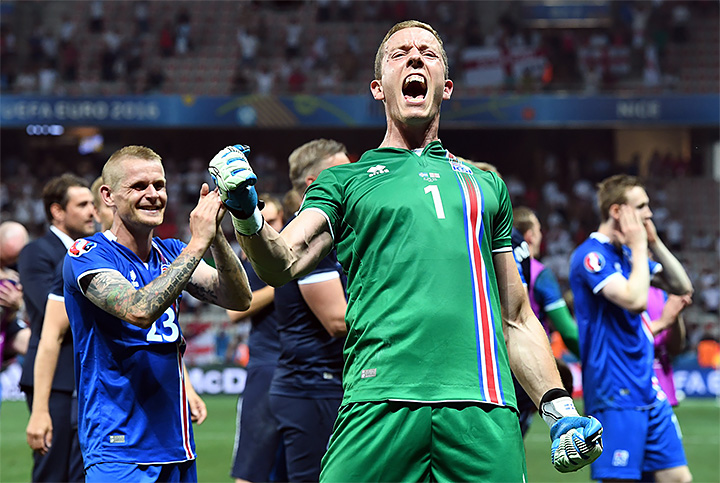 Ханнес Хальдерссон, Евро-2016, сборная Исландии, Ливерпуль, Криштиану Роналду
