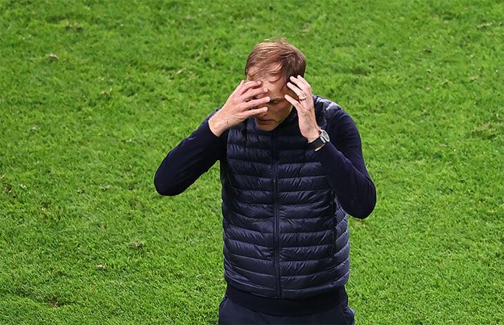 Тухель –сгусток страсти и экспрессии! Весь финал ЛЧ он сам играл за «Челси» на бровке