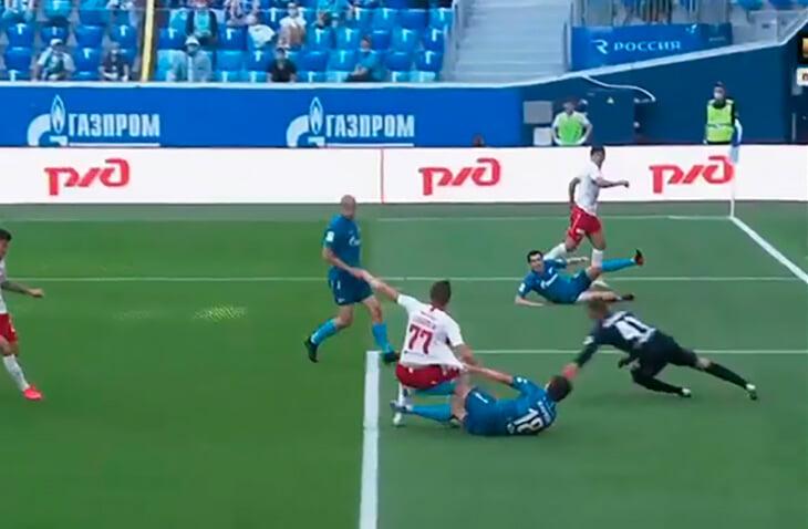 Кашшаи объяснил судейство на «Зенит» – «Спартак»: Соболев фолил сам и падал сам, Оздоев был просто неосторожен
