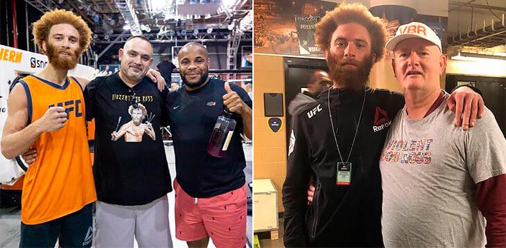 У бойца UFC две мамы и три папы. А с младшим братом он познакомился за два дня до боя