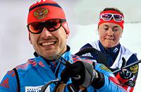 «Рождественская гонка» с Гараничевым и Юрловой. Онлайн
