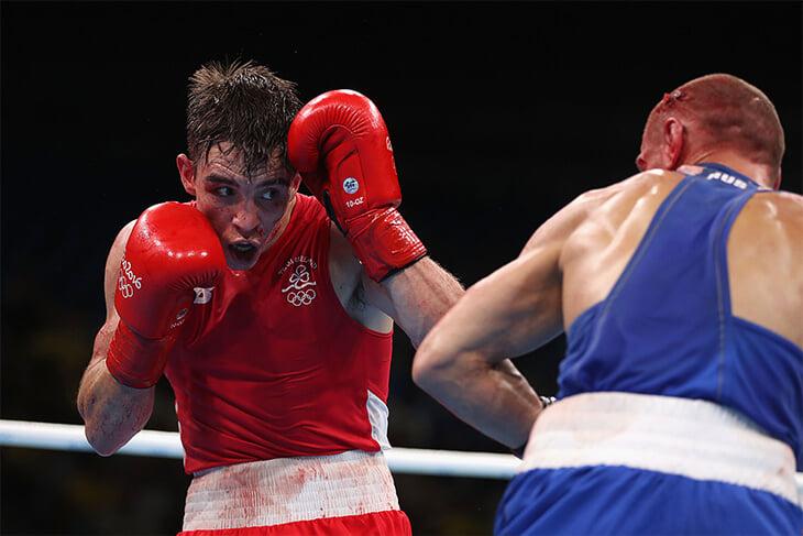 Майкл Конлан – Конор из бокса. Проиграл российскому бойцу на Олимпиаде, обматерил судей и приплел Путина