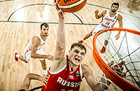 Тимофей Мозгов, сборная России, сборная Хорватии, Евробаскет-2017