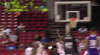 Marcus Lee gets up for the big rejection