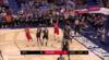 Jarrett Allen Blocks in New Orleans Pelicans vs. Brooklyn Nets