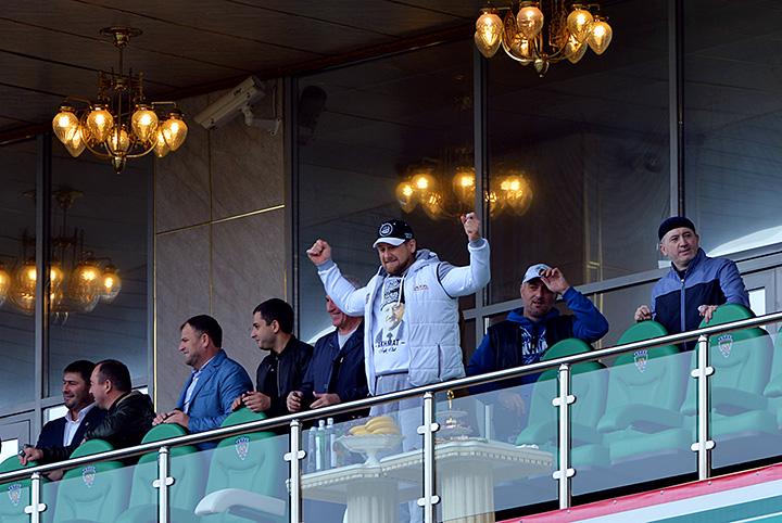 Image result for Кадыров на футболе фото
