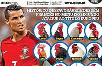 сборная Португалии, сборная Франции, Евро-2016, обзор прессы