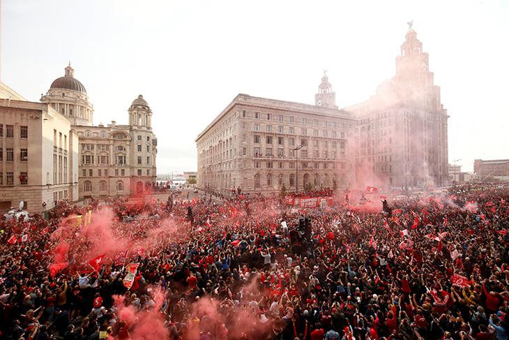 болельщики, Лига чемпионов, Ливерпуль
