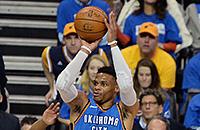 НБА, видео, Юта, Расселл Уэстбрук, Оклахома-Сити, НБА плей-офф