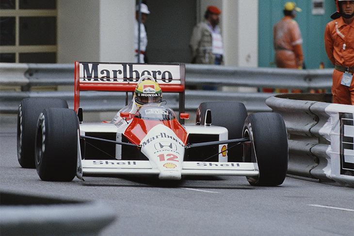 Айртон Сенна, Гран-при Монако, Макларен, Ален Прост, Формула-1