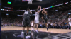 Bryn Forbes with the hoop & harm