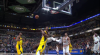 Myles Turner with one of the day's best blocks