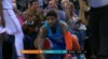 Paul George with one of the day's best dunks