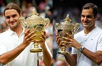рекорды, Уимблдон, ATP, Роджер Федерер, фото