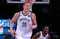 НБА, Бруклин, видео, Тимофей Мозгов