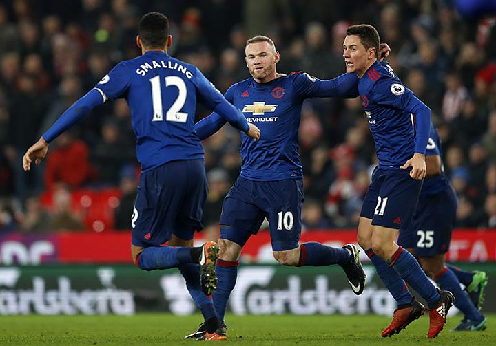 Уэйн Руни стал лучшим бомбардиром вистории «Манчестер Юнайтед»
