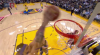 JaVale McGee throws down the alley-oop!