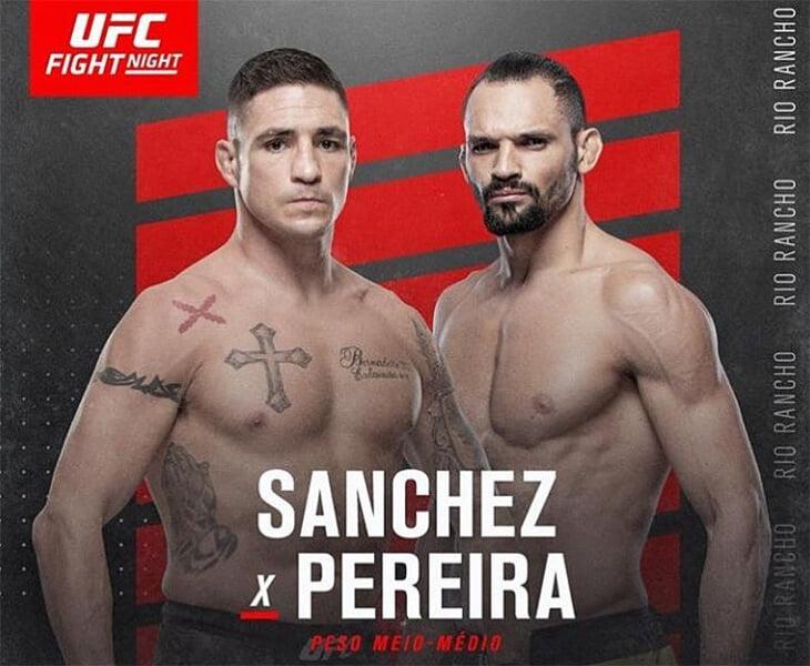 Сегодня в UFC подерутся два сумасшедших бойца. Один постоянно рубится, а второй крутит сальто прямо во время боев