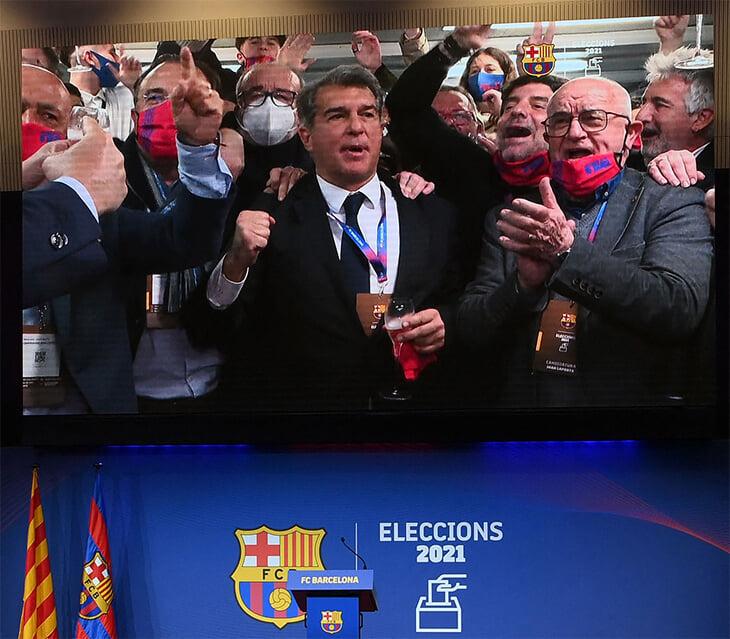 Лапорта –снова президент «Барселоны». Он обещает удержать Месси и спасти экономику клуба –без распродаж