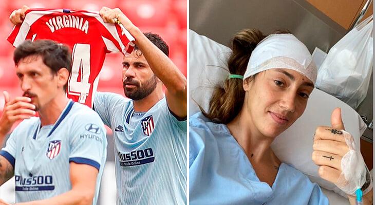 Добрая история из женского Суперкубка Испании: трофей подняла футболистка, которая не играла с мая из-за опухоли мозга