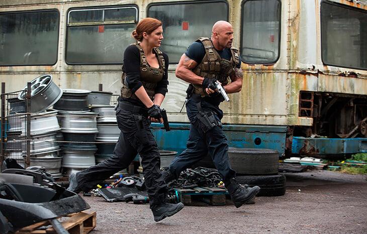Джина Карано – звезда сериала «Мандалорец». Кажется, в кино ей лучше, чем в MMA