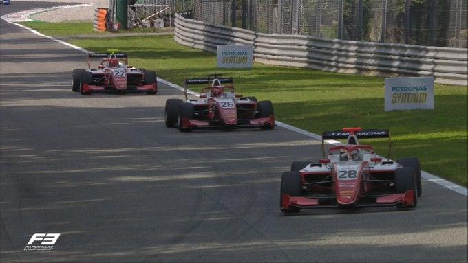 Шварцман выиграл первую гонку Формулы-3 в Италии