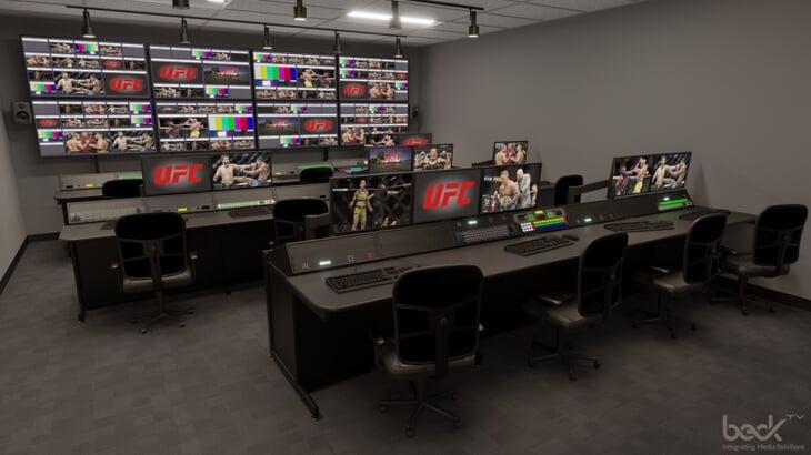 UFC построил в Лас-Вегасе крутейший медиа-комплекс