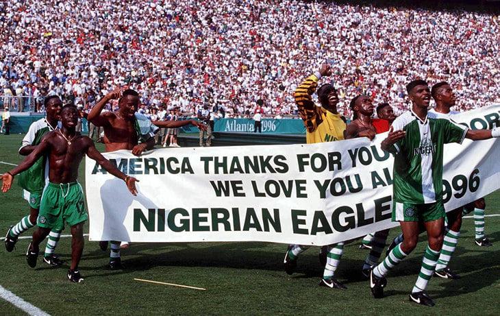 Кану, Окоча, Финиди, Бабаяро и Уче Окечукву. Нигерия 90-х – главная африканская команда нашей жизни