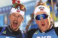 Йоханнес Дале, Стурла Хольм Лагрейд, сборная Норвегии, Чемпионат мира по биатлону