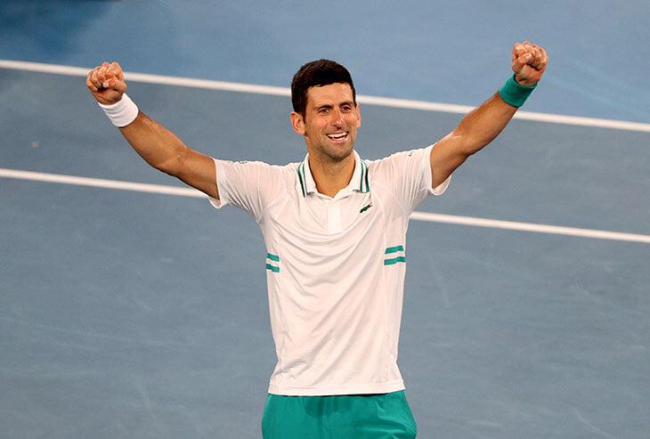 Джокович феноменален. Уничтожил Медведева и девятый (!) раз выиграл Australian Open
