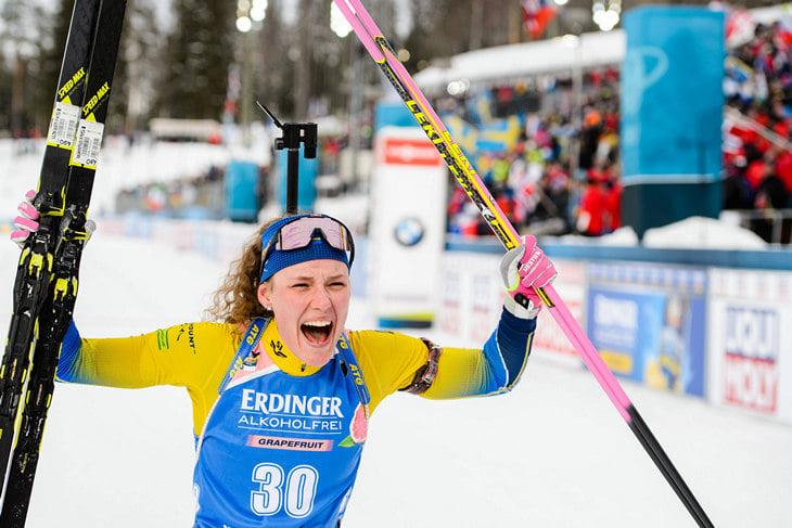 Ханна Оберг, Вольфганг Пихлер, сборная Швеции жен, сборная Швеции, Чемпионат мира по биатлону, Кубок мира по биатлону