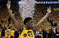 Донован Митчелл, НБА плей-офф, Оклахома-Сити, Юта, видео, НБА