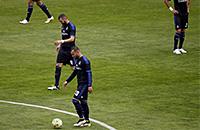 «Реал» горит 0:2 в мадридском дерби