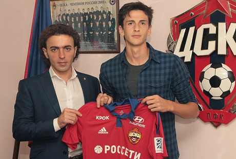 Амир Натхо перешел в ЦСКА