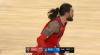 Steven Adams with the huge dunk!